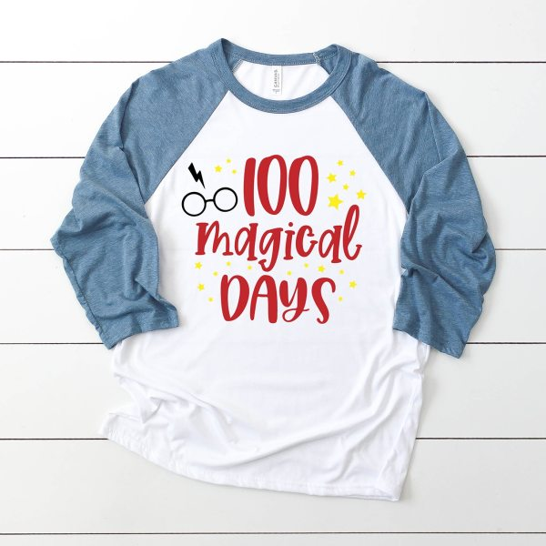 100 Magical Days Harry Potter SVG File for 100th Day of School Shirt