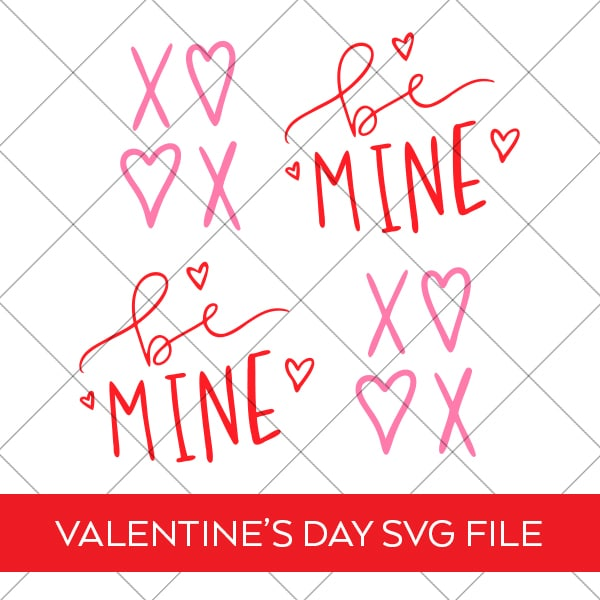Free Valentine Ornaments SVG by Pineapple Paper Co.
