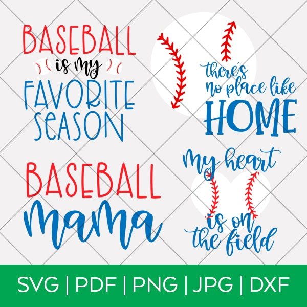 Baseball SVG Bundle by Pineapple Paper Co.