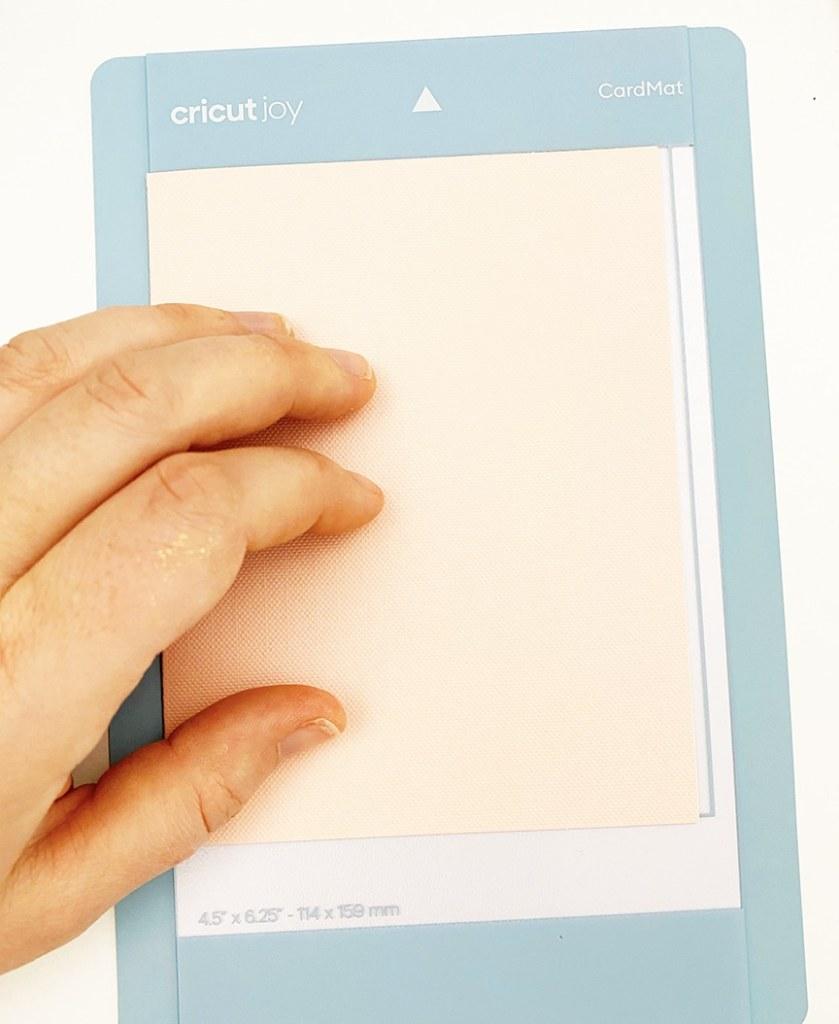 How to use Cricut Joy Card Mat to Make a Birthday Card