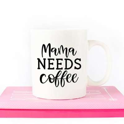 Mama Needs Coffee Mother's Day SVG