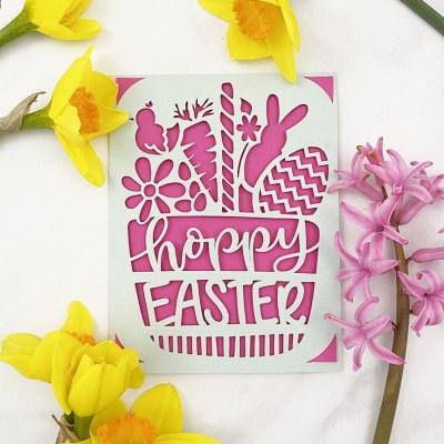 DIY Easter Cards with Cricut Joy