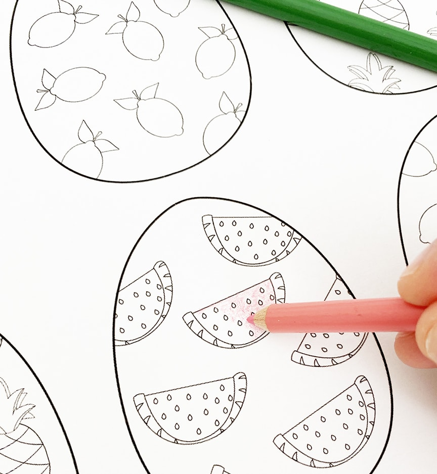 Easter Basket Coloring Page | crayola.com | 938x864