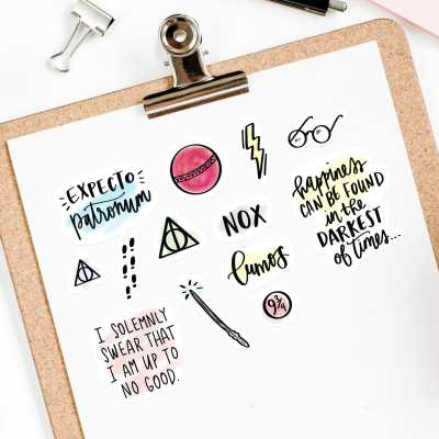 Free Harry Potter Printable Stickers