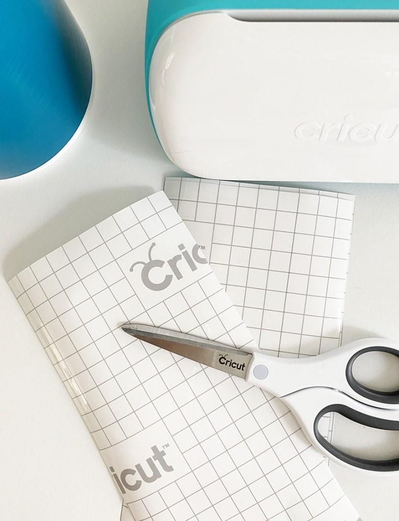 Cricut Transfer Tape with Scissors