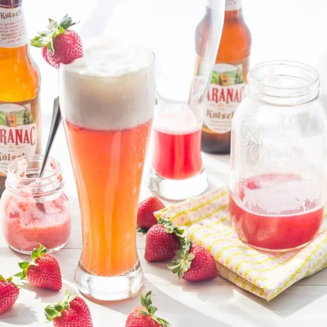 rhubarb shandy