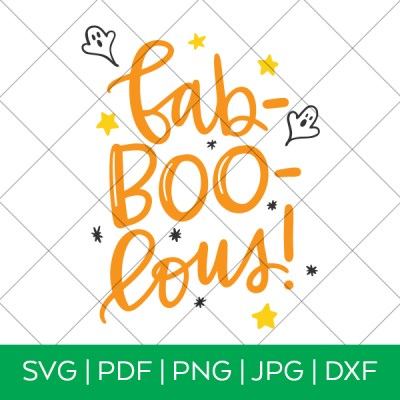 Fab-Boo-Lous Halloween SVG