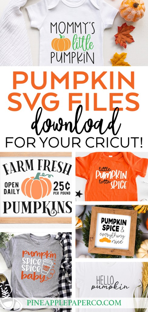 Free Pumpkin SVG Files at Pineapple Paper Co.