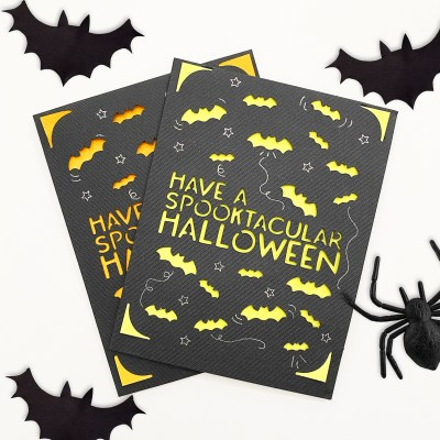 DIY Halloween Card with Cricut Joy and FREE SVG by Pineapple Paper Co.