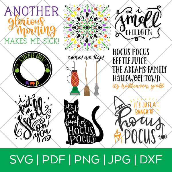 Hocus Pocus Halloween SVG Bundle