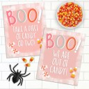 Free Printable Trick or Treat Signs for Halloween
