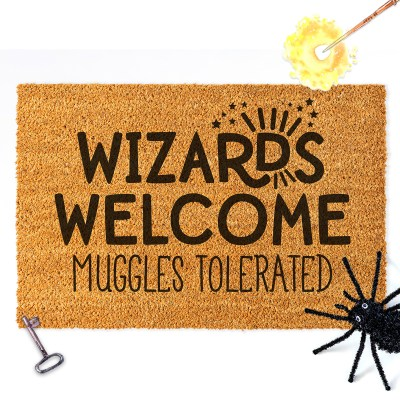 DIY Harry Potter Doormat