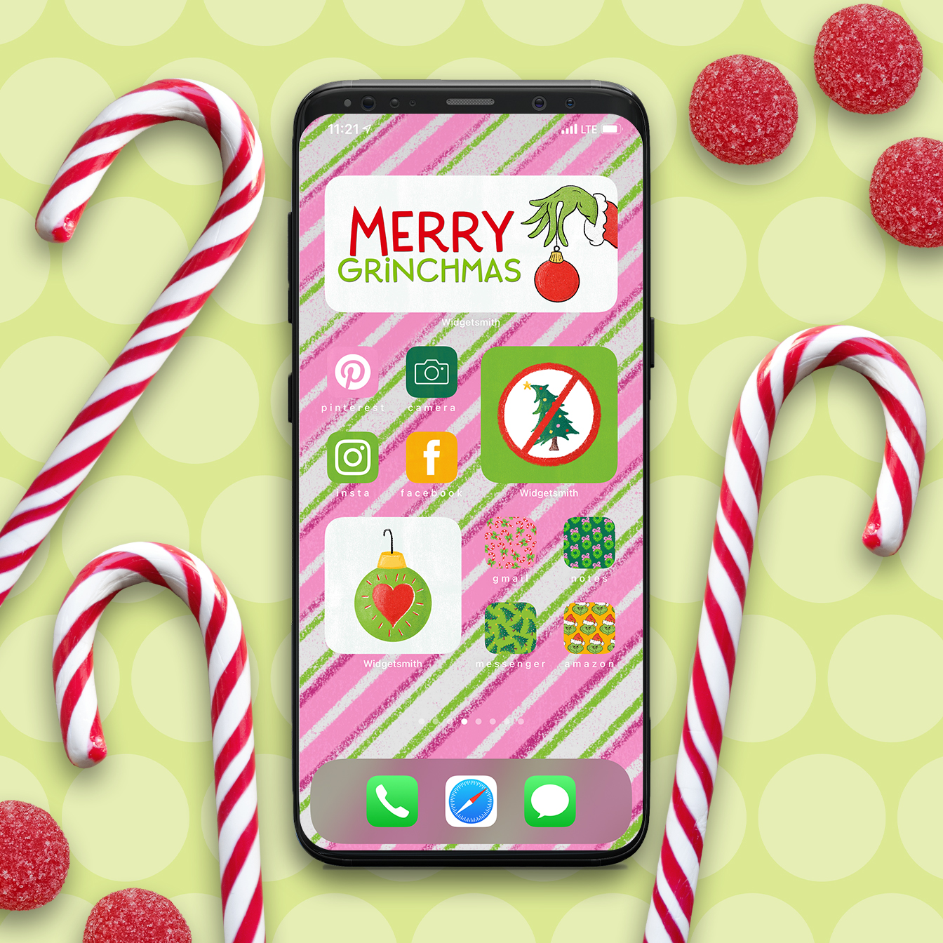 14++ Christmas Aesthetic App Icons