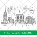 Thanksgiving Day Parade Free Printable Placemat