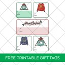 Free Harry Potter Christmas Gift Tags