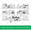 Free Harry Potter Printable Reading Log