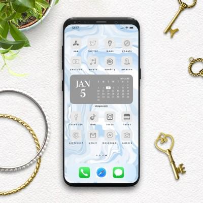 Free Minimal Aesthetic App Icons