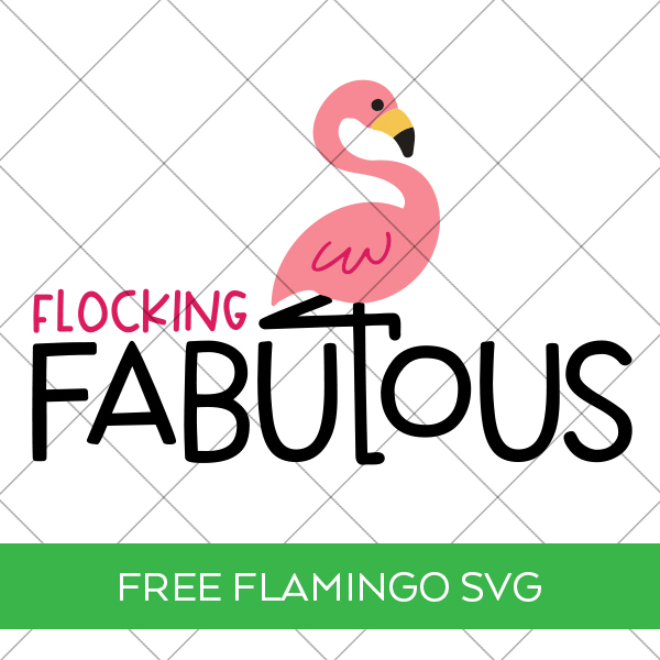 Free Flocking Fabulous SVG with Grid