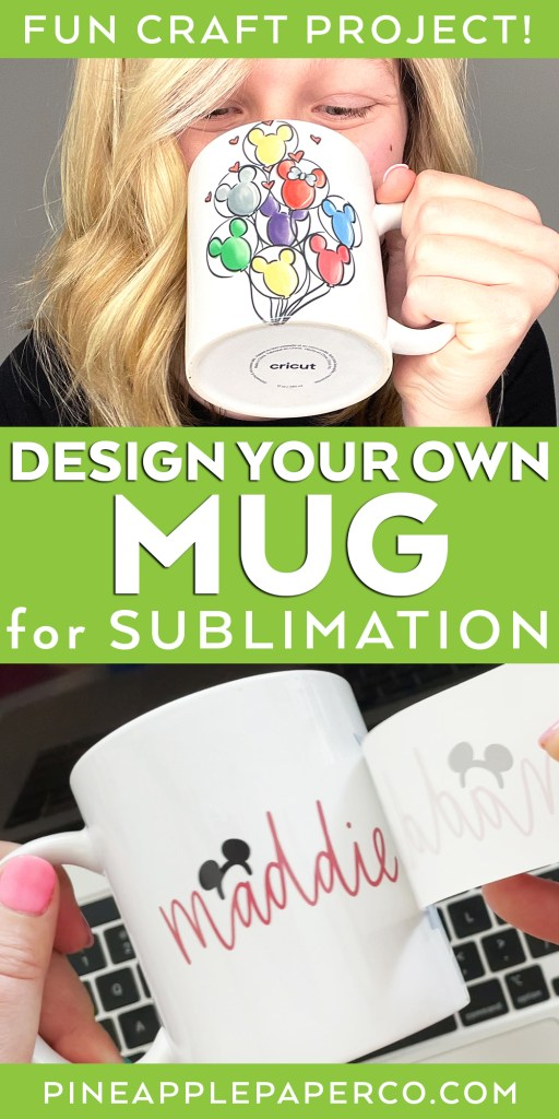 Design Your Own Mug with a Sublimation Transfer