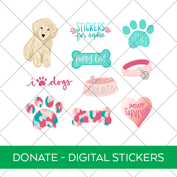 Stickers for Sophee Printable Digital Stickers