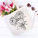 Peony Bouquet Flower SVG