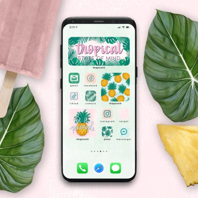 Summer Aesthetic App Icons