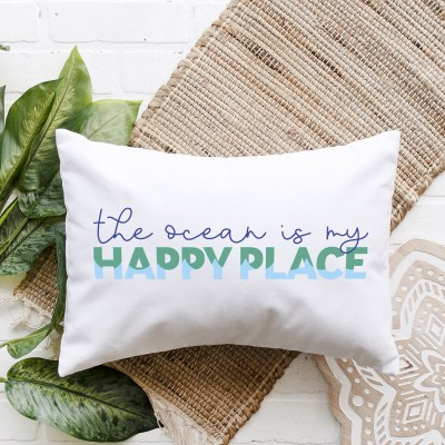 Free The Ocean is My Happy Place SVG File