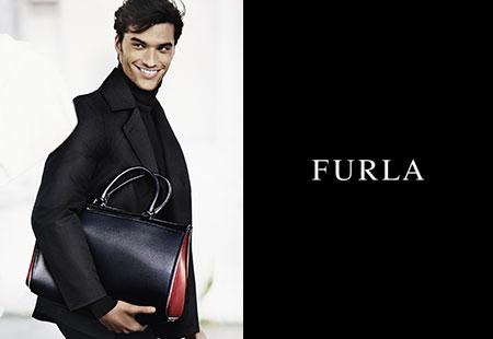 フルラメンズ FURLA 2015FW Campaign