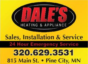 Logo for Dale's Heating