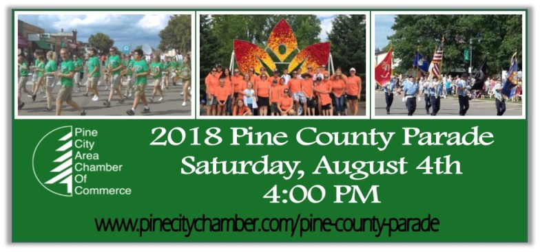 2018 Promotion of Pine County Parade