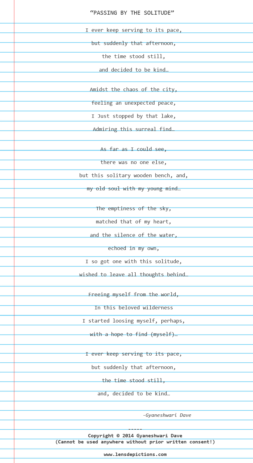 Copyrighted-solitude-poem-Lensdepictions