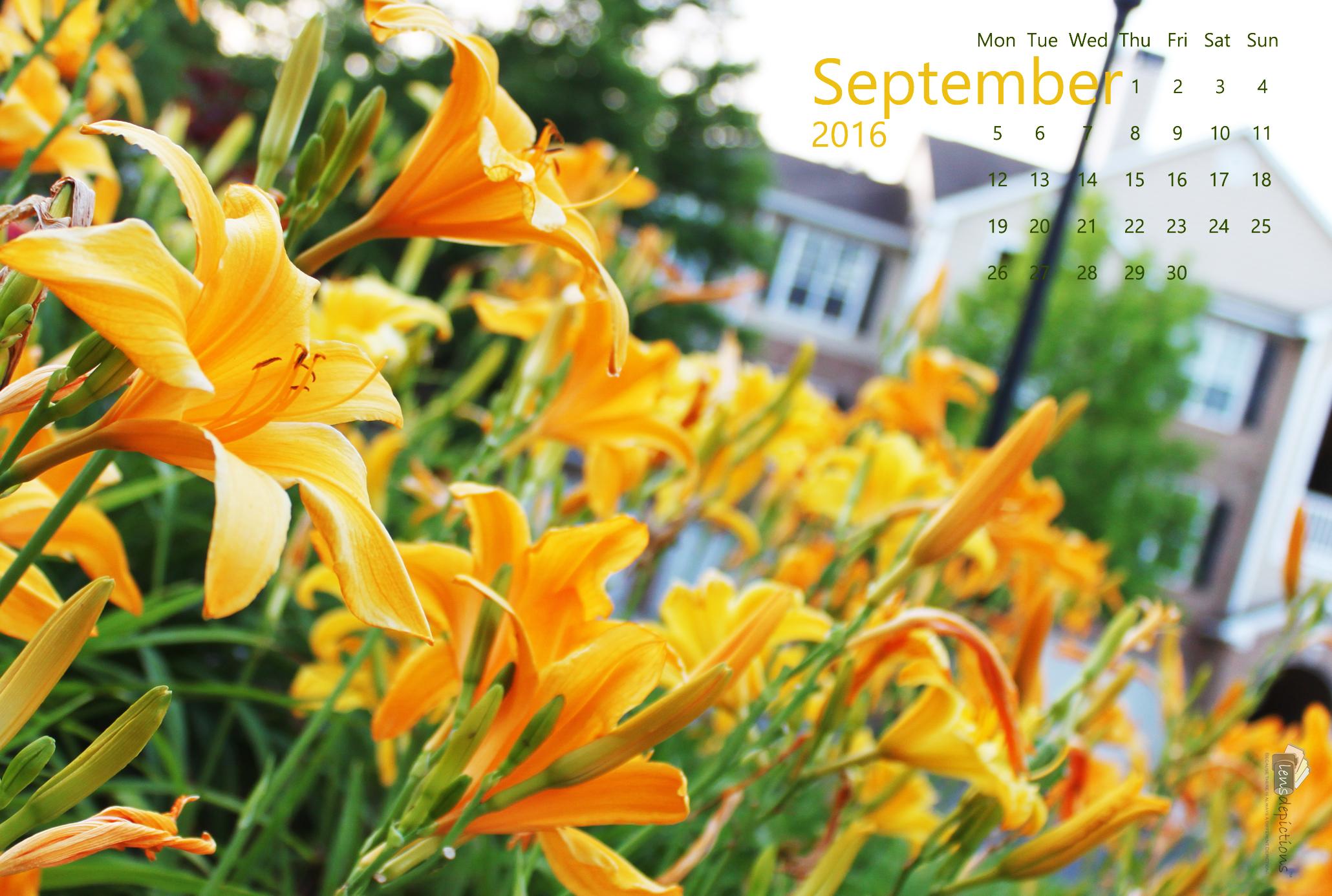 Free Calendar Wallpaper – September 2016!