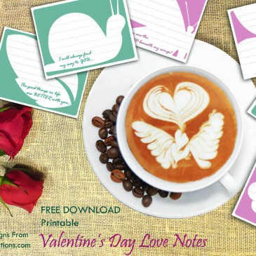 Exclusive & Free Download – Valentine's Day Printables Inspired by early Spring!