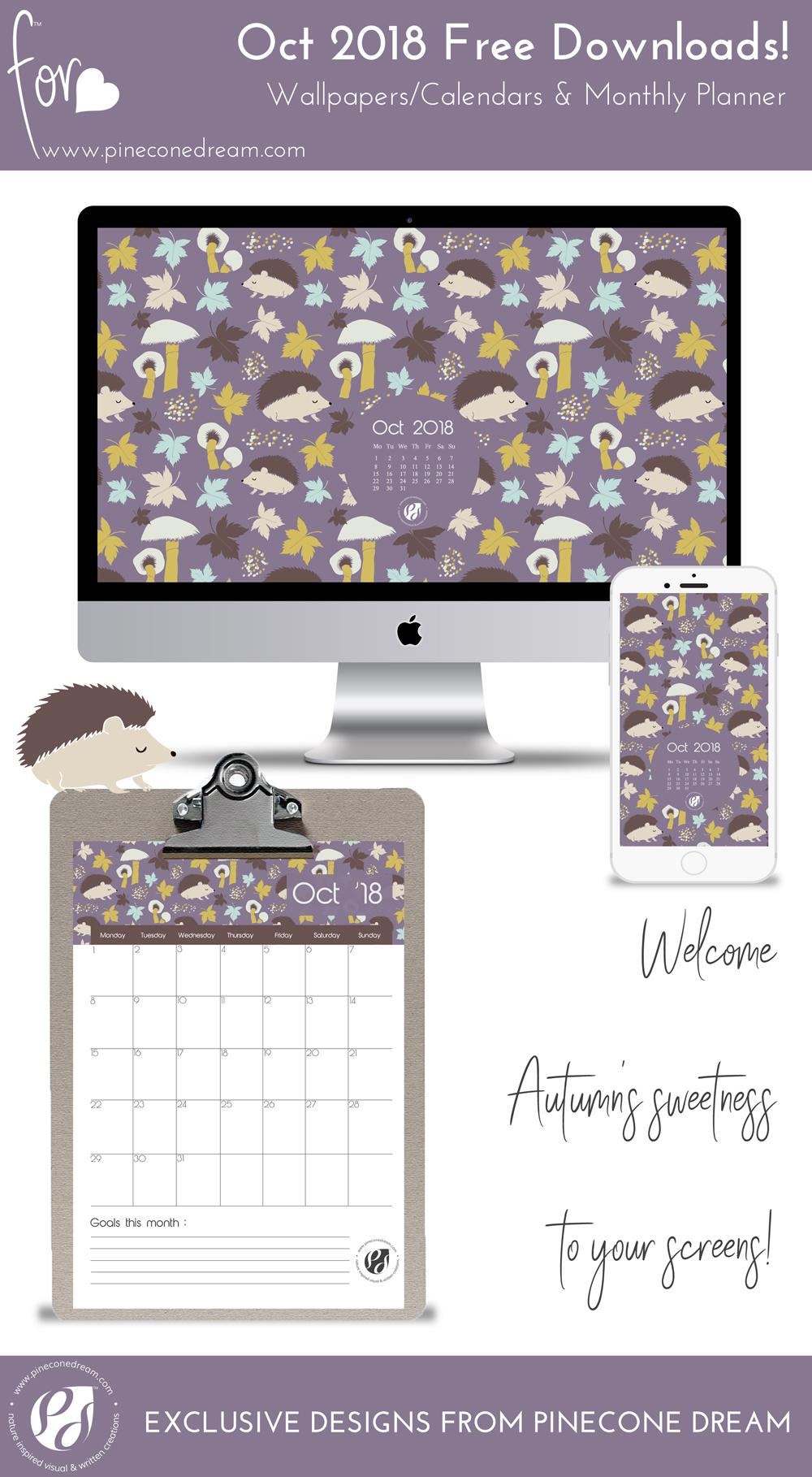 Wallpapers&Calendars_Bundle_Pineconedream2