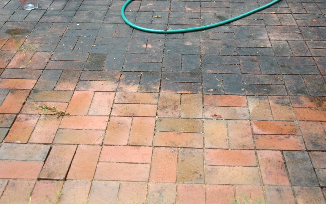 cleaning your brick patio