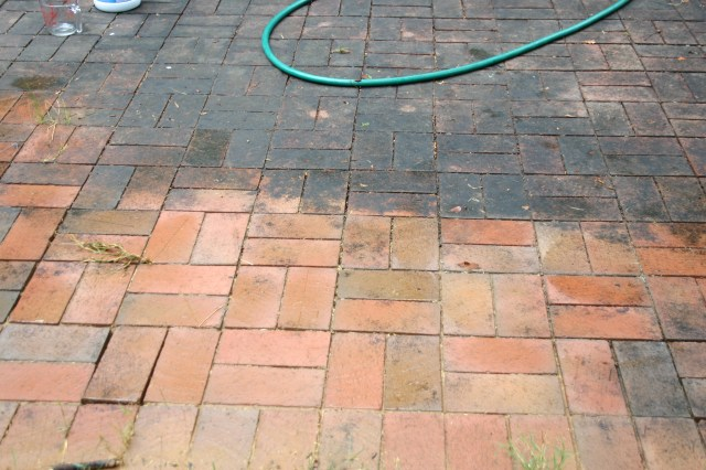 Proper Technique for Cleaning your Brick Patio - Pine Hall Brick