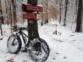 Try a fat bike