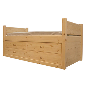 Pine Cabin Storage Bed  sc 1 st  Country Pine of Worksop & Pine Cabin Storage Bed - Country Pine of Worksop