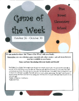 Game of the Week Oct 26 – 30