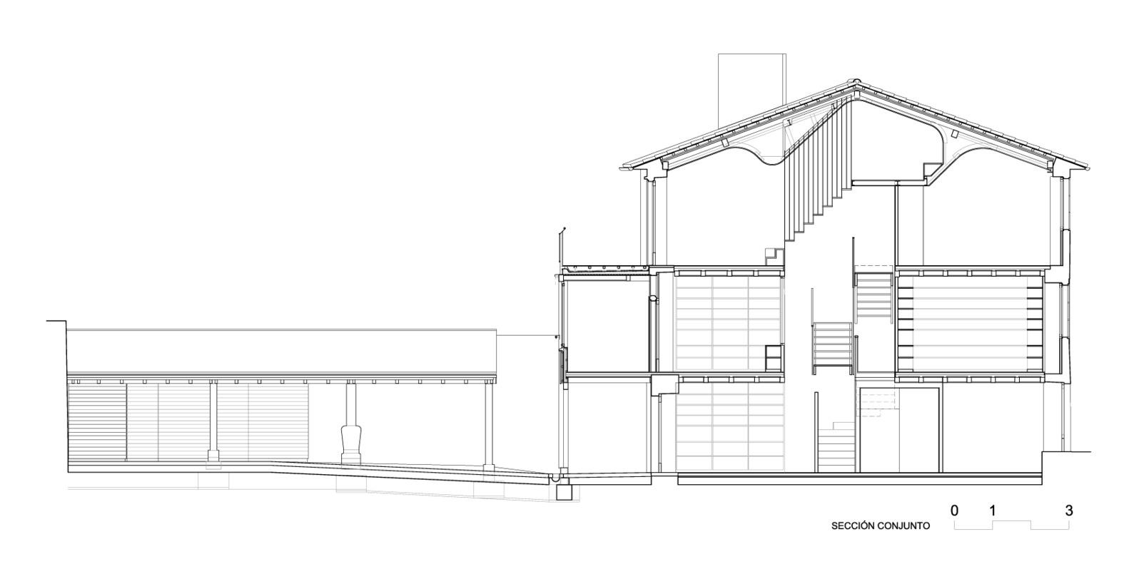 Casa do Medio. ARROKABE Arquitectos.