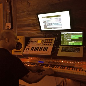 Rubin Ariola at the helm of the ship. He came by to blow off some steams and make a couple stems.