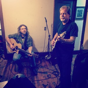 Tom Carpenter & Frank Foley jamming