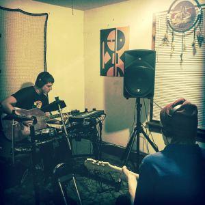 Cody & Chris making music
