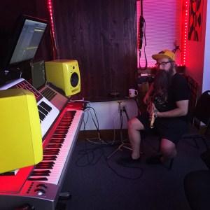 Seth W. Recording Bass - Pinetop Recording Studio