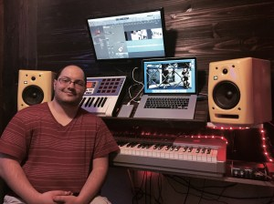 Carlo Deconza working with Jeremiah Williams at Pinetop recording studio