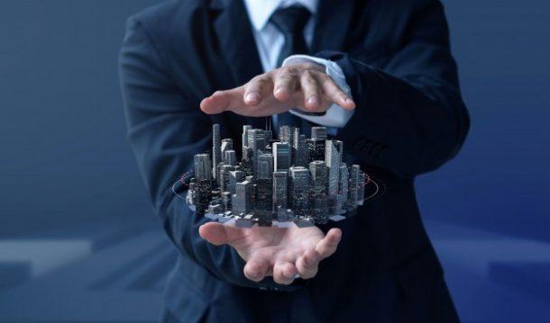 business man create design modern building real estate - Pinetree Financial