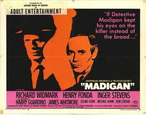 madigan 1968 poster