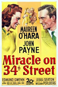 miracle on 34th-street poster