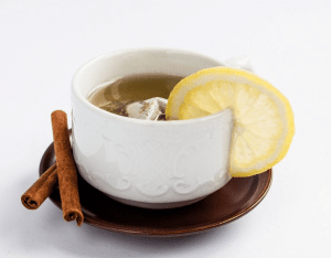 Healthy Fruit Tea with Lemon and Cinnamon by Marco Verch