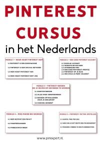 pinterest-cursus in het Nederlands